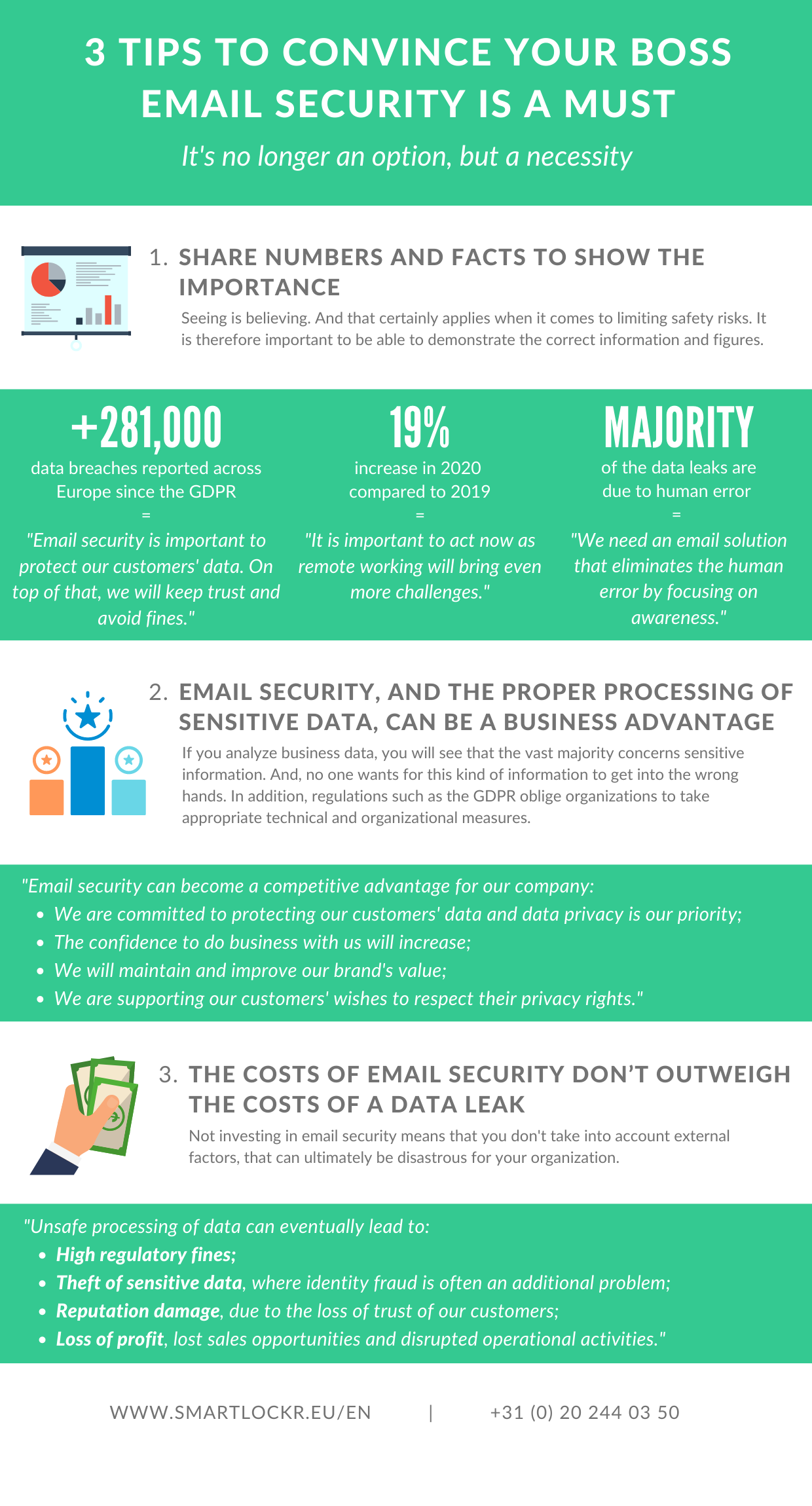 3 Tips to convince your boss of email security ROI