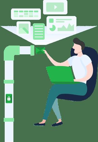 Veilig mailen smartLockr