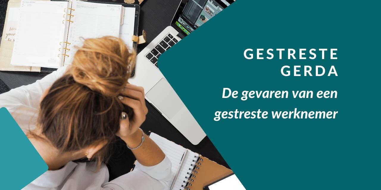 Menselijke factor in databeveiliging:Gestreste Gerda