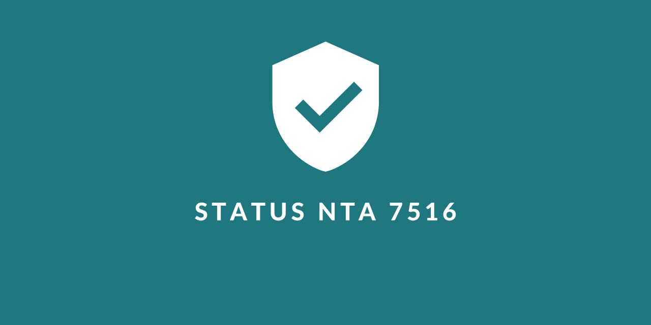 "UPDATE: NTA 7516 meeting ""Digitale toetsing certificering via NEN"""