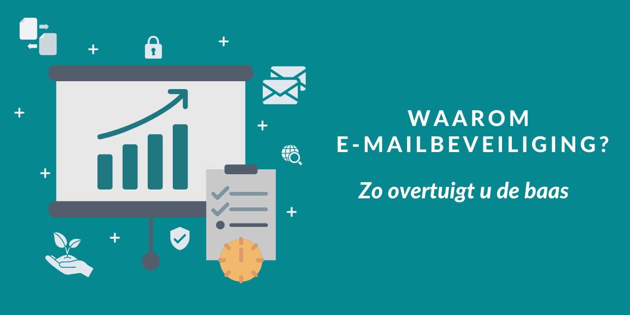 Hoe u uw baas overtuigt van ROI van e-mailbeveiliging