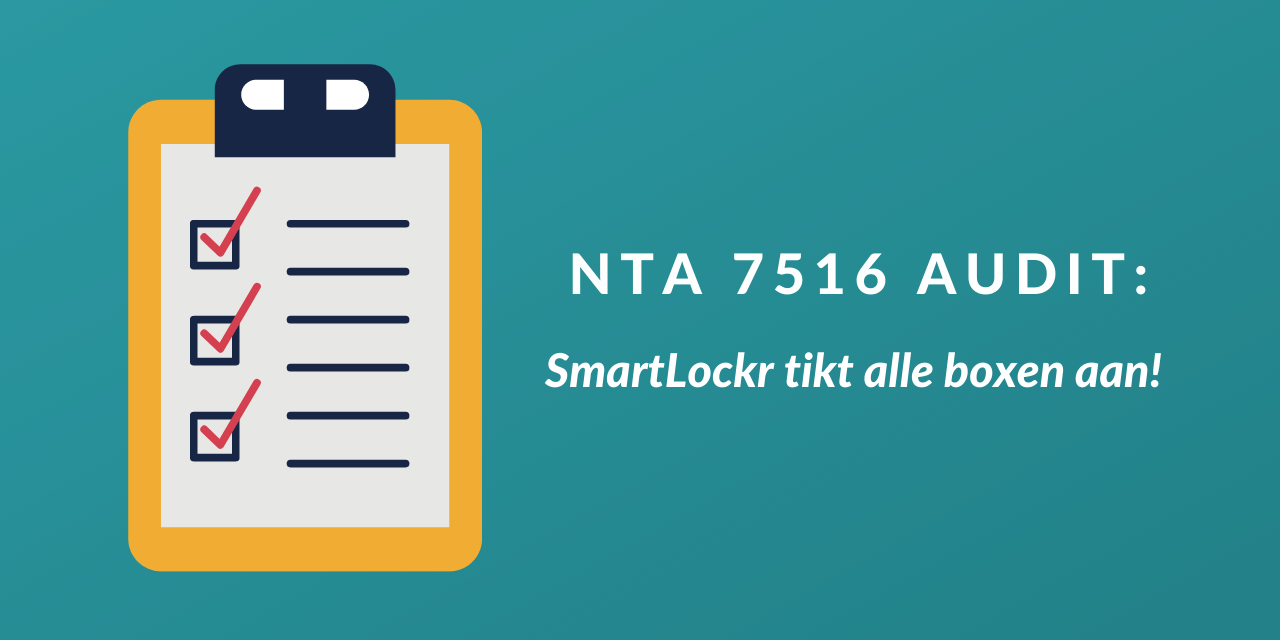 SmartLockr doorloopt NTA 7516 audit succesvol
