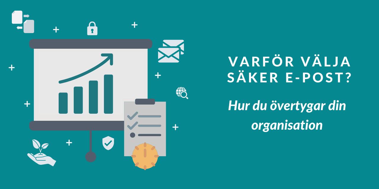 Övertyga din organisation med ROI för säker e-post
