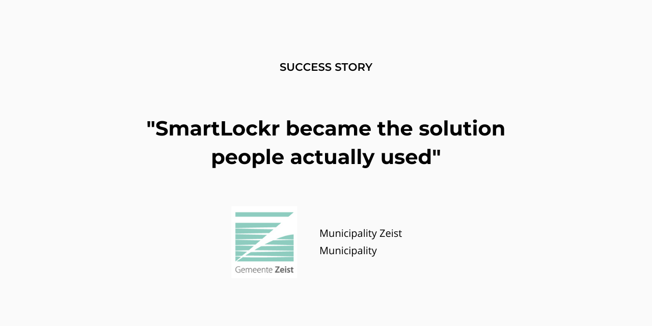 How Zeist municipality simplified secure emailing by switching to SmartLockr