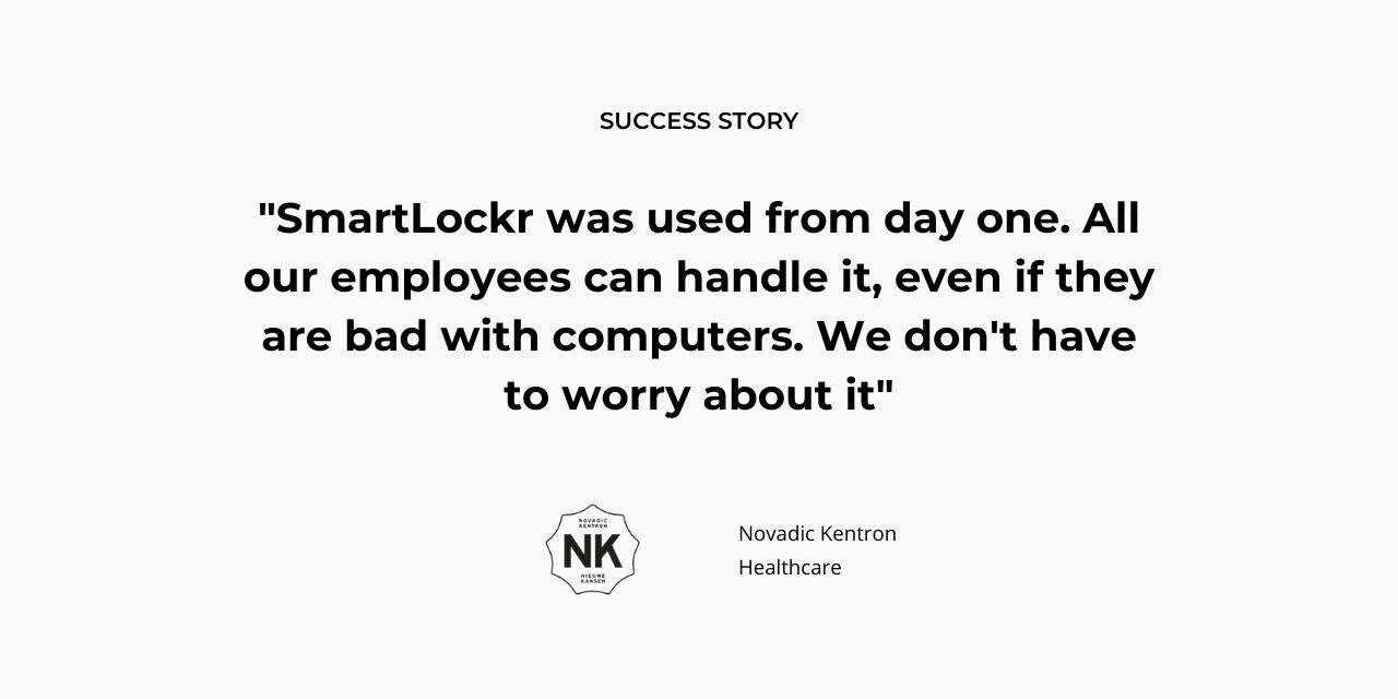 Novadic-Kentron chooses SmartLockr for secure healthcare communications