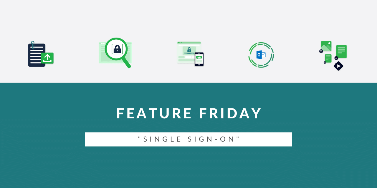 Feature Friday: Single Sign-On simpel uitgelegd