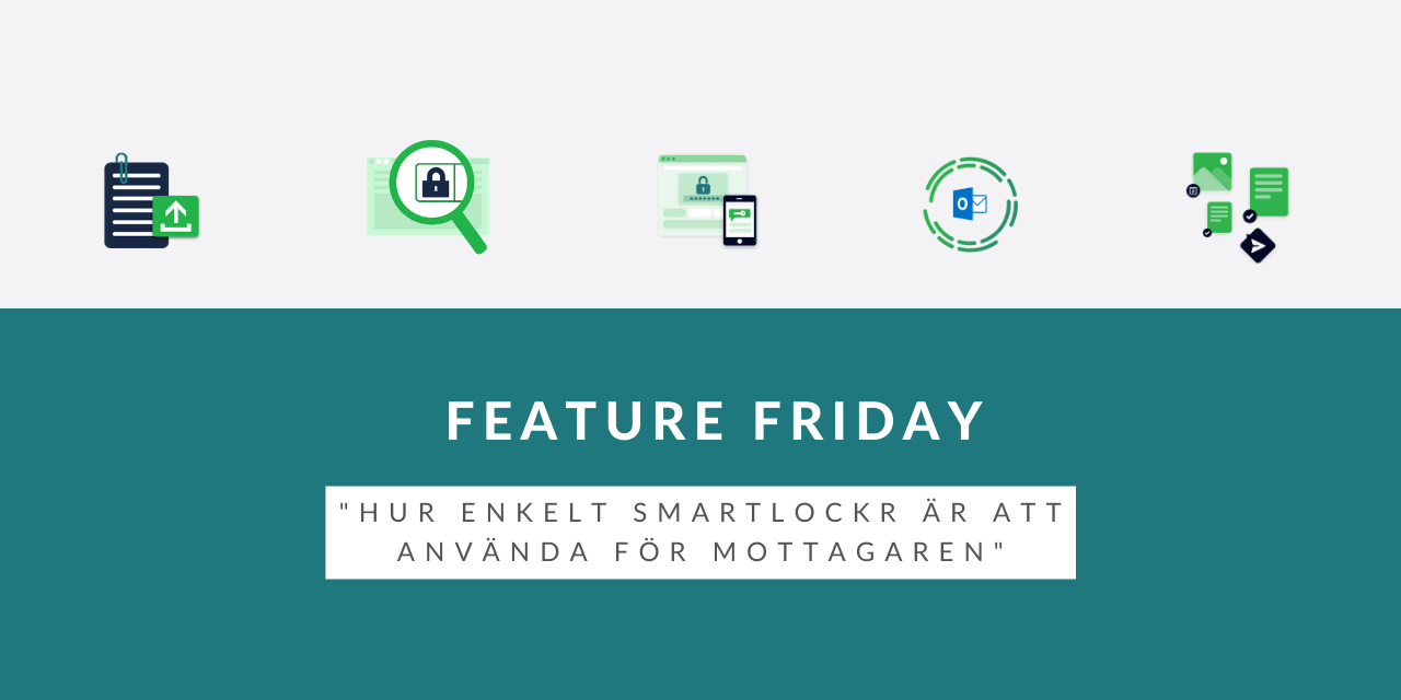 Feature Friday: Hur enkelt SmartLockr är att använda för mottagaren