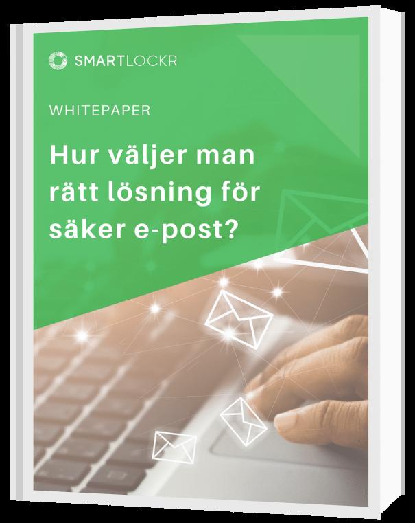 Hur väljer man rätt lösning för säker e-post? - Cover-1