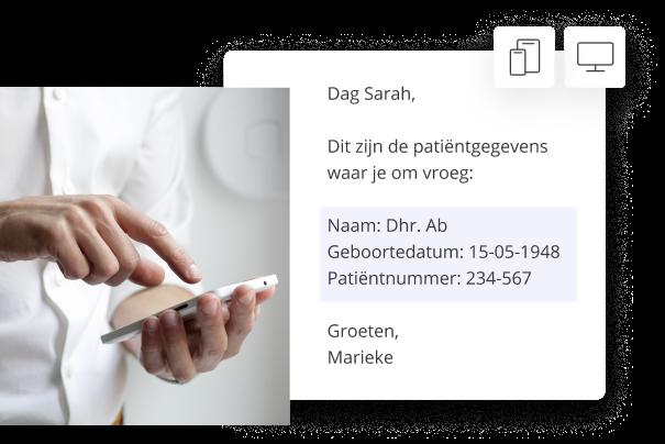 Integreer met Outlook (in de browser), Gmail, tablet en telefoon